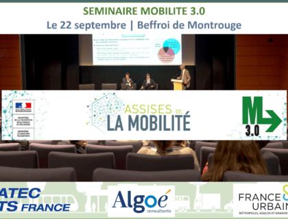 M3.0 – le 22 septembre dernier : un séminaire pour construire ensemble la mobilité