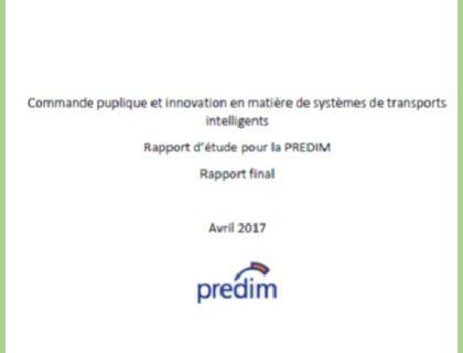 Le rapport : Commande publique et innovation en matière de systèmes de transports intelligents